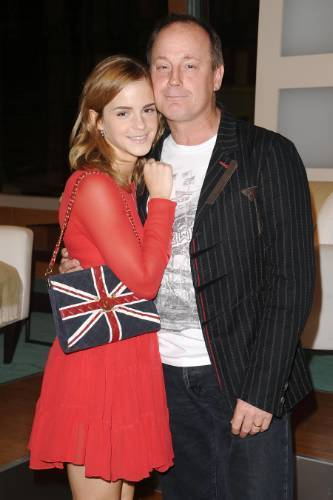 Photo of Emma Watson & her Father  Chris Watson
