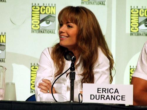 Erica at Comic Con 2007