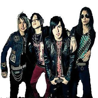 polyvore clippingg♥ দেওয়ালপত্র probably with a well dressed person titled Escape The Fate