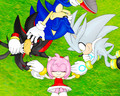 Everyone loves AMY! - sonic-and-amy wallpaper