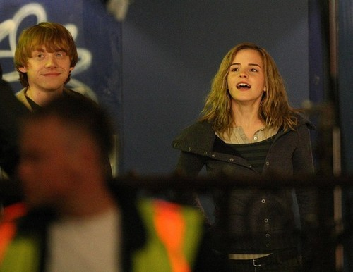 Filming 'Harry Potter and the Deathly Hallows: Part