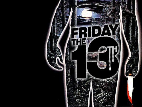 Filem Seram kertas dinding entitled Friday the 13th