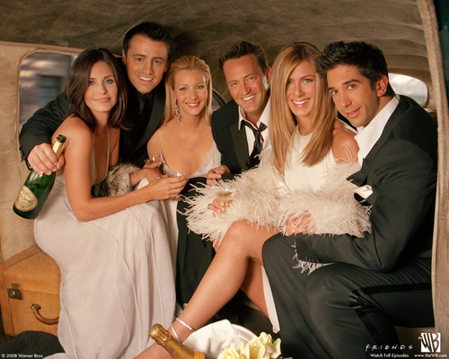 Friends wallpaper possibly with a bridesmaid called Friends <33