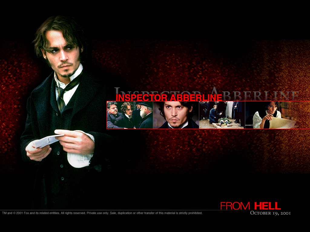 From Hell - Horror Movies Wallpaper (7084013) - Fanpop