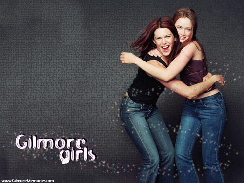 Galaxy : Lorelai and Rory - gilmore-girls Wallpaper