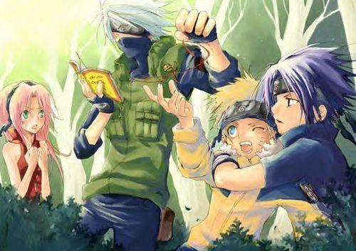 Get the chuông, bell Naruto!!