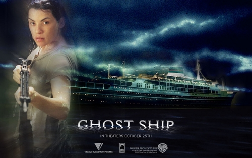 Horror Movies wallpaper possibly containing a concert called Ghost Ship