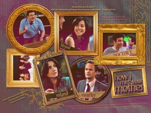 Goledn HIMYM - how-i-met-your-mother Wallpaper