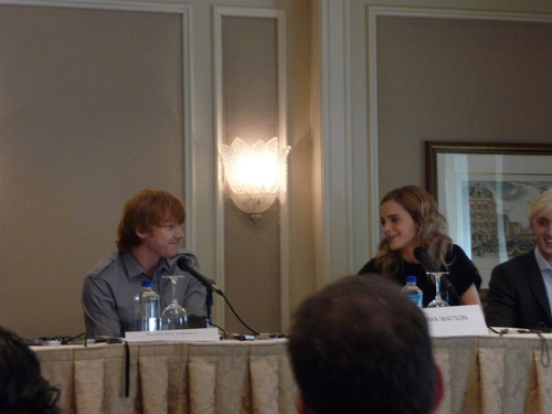 HP and the Half-Blood Prince New York Press Conference