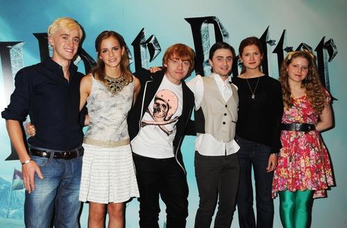 HP cast,half blood prince premiere