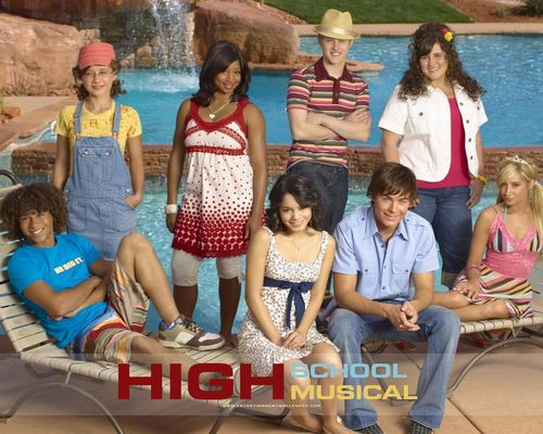 High School Musical wallpaper entitled HSM
