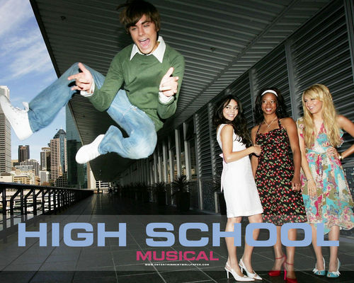 High School Musical wallpaper possibly containing a bridesmaid entitled HSM