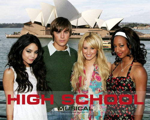 High School Musical wallpaper possibly containing a portrait called HSM