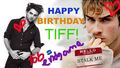 Happy Birthday, Tiff!