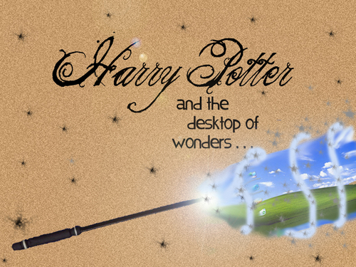 Harry Potter and the Desktop of Wonders
