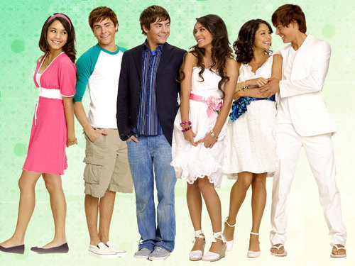 High School Musical 3 wallpaper probably containing a cocktail dress entitled High School Musical