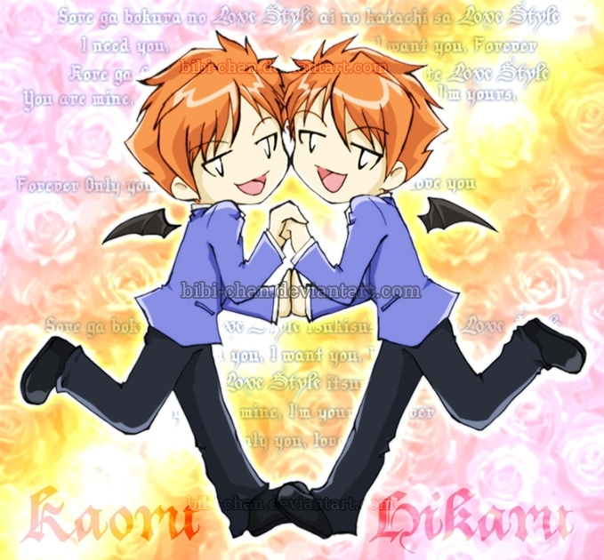 Ouran high school host club hikaru karou