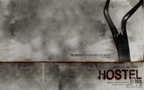 films d'horreur fond d'écran called Hostel (1 & 2)