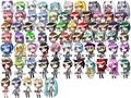 I think all the VOCALOIDS