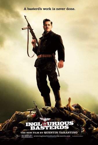 Inglourious Basterds wolpeyper with a manganganyon called Inglourious Basterds Poster