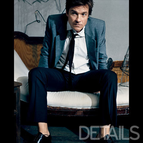 Jason Bateman wallpaper containing a business suit, a suit, and a three piece suit titled Jason Bateman in Details Magazine