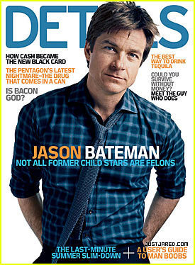 Jason Bateman in Details Magazine
