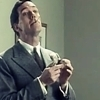 Hugh Laurie photo probably with a business suit called Jeeves & Wooster