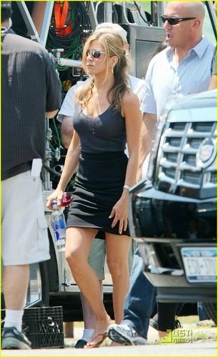 """Jennifer on Set """" The Bounty"""""""