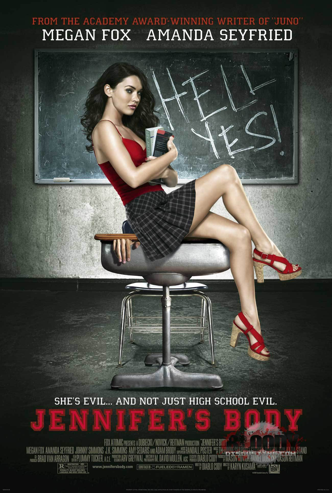 Horror Movies Jennifer's Body (2009) Poster