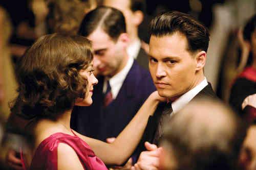 John Dillinger with Billie