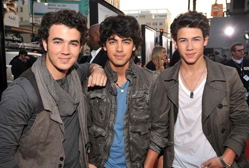 The Jonas Brothers wallpaper probably containing a business suit entitled Jonas Brothers