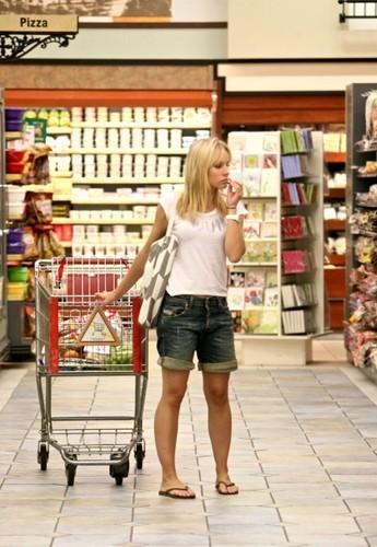 Kristen Grocery Shopping