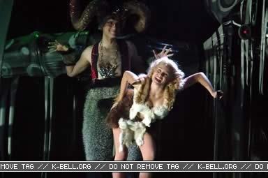 Kristen on Stage