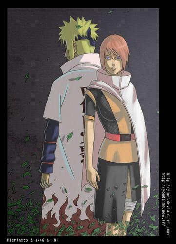 sienna miller wallpaper titled Kushina&Minato