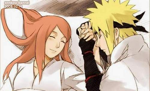 sienna miller wallpaper with animê called Kushina&Minato