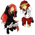 Kushina&Minato school girls
