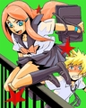 Kushina&Minato-school