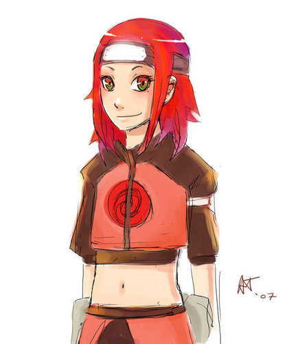 Kushina young