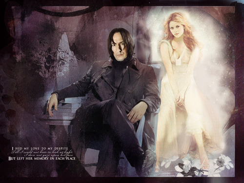 Lily and Severus - severus-snape-and-lily-evans Fan Art