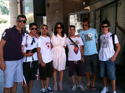 Lisa on tour in Rome!