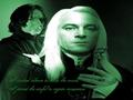 Lucius Malfoy & Severus Snape - death-eaters wallpaper
