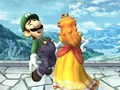 Luigi and Princess margarita