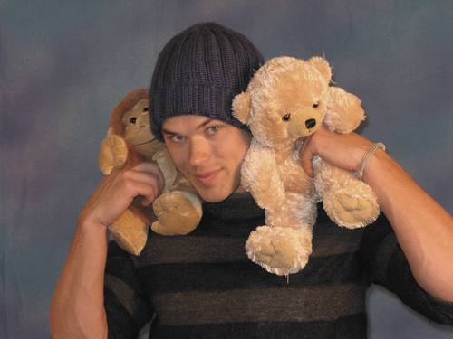 MY TEDDY menanggung, bear KELLAN LUTZ (HQ)
