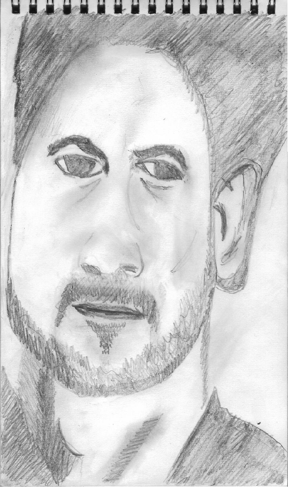 Mac Taylor Drawing