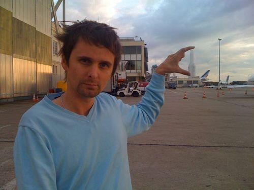 Matt's found a space ship...