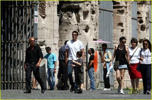 Matthew raposa in Rome