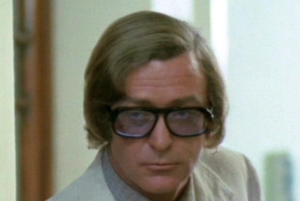 Michael Caine in Pulp