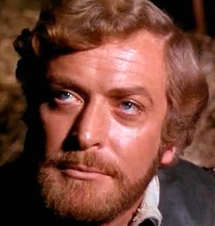 Michael Caine in The Last Valley