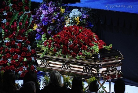 Michael Jackson's Memorial