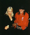 Michael & Madonna at the Ivy - michael-jackson photo